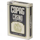 Copag Plastic Coated Casino Series Blue Poker Size Jumbo Index Single Deck