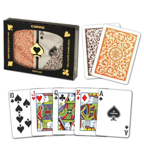 Copag 1546 OB Poker Size Regular Index Double Deck
