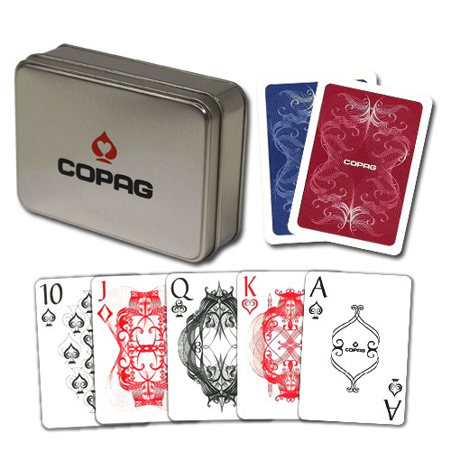 Copag Centennial RB Poker Size Regular Index Double Deck