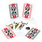 Copag Lace 2016 WSOP World Series of Poker Plastic Playing Cards, Red/Black, Bridge Narrow Size, Regular Index