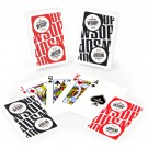 Copag Main Event 2016 WSOP World Series of Poker Plastic Playing Cards, Red/Black, Bridge Narrow Size, Regular Index