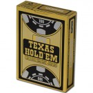 Copag Texas Hold 'Em Black Poker Size Jumbo Index Single Deck
