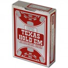 Copag Texas Hold 'Em Red Poker Size Peek Index Single Deck