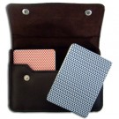 Copag Export RB Poker Size Jumbo Index Leather Case