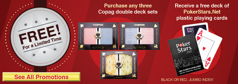 CopagCards.com Three Deck Poker Star Promotion
